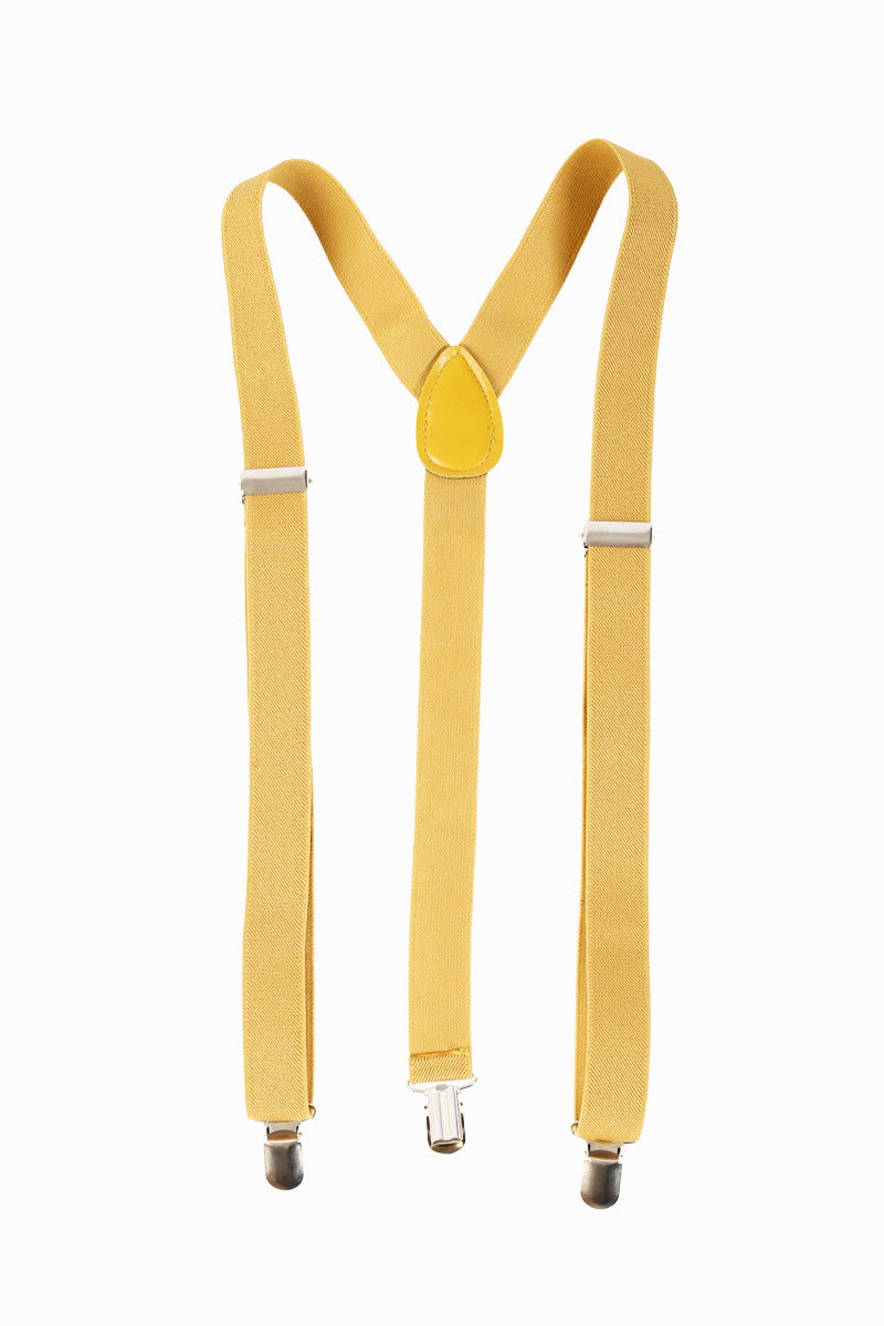 Polly Suspenders - Mustard