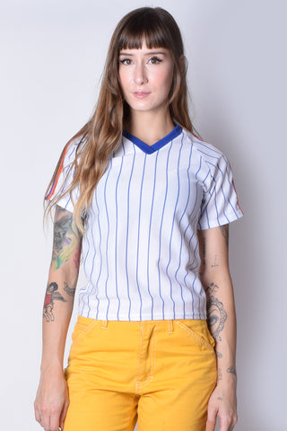 Stripe T- Ball Deadstock Top