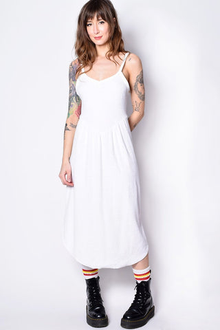 ECH Vintage Terry Cloth Midi Dress