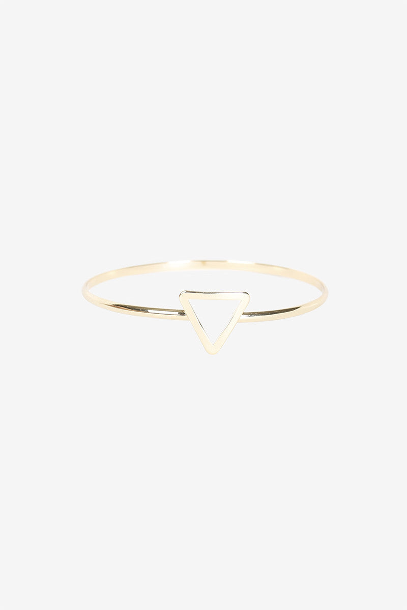 Triangle Gold Arm Band