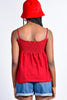 ECH Vintage Red Terry Cloth Tank