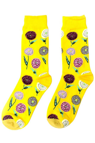For the Love of Flowers Socks