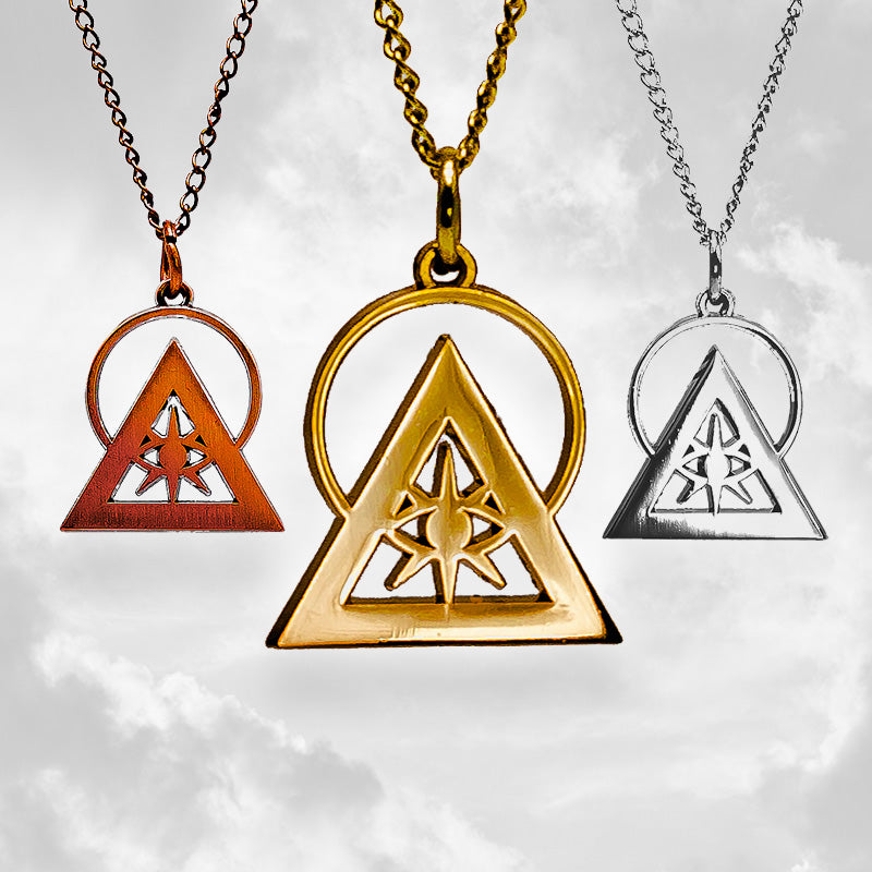 Illuminati Talisman Necklace & Pin