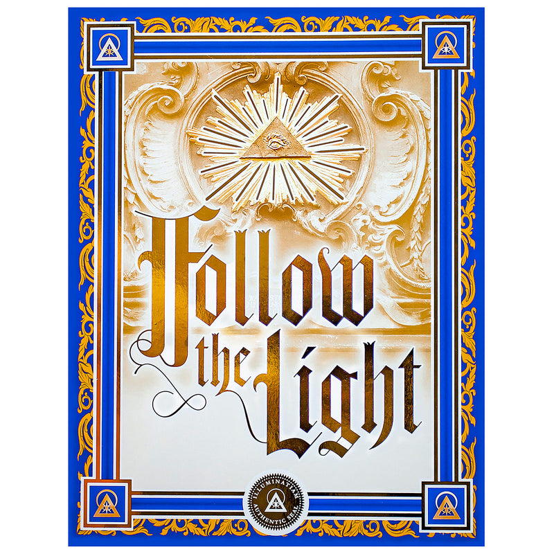 Follow The Light – Illuminated Manuscript