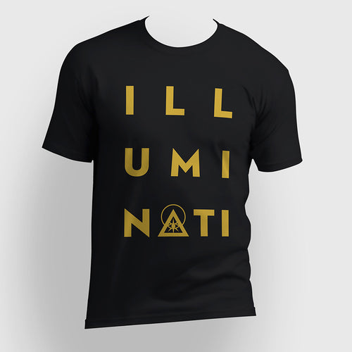 Illuminati Gold Shirt