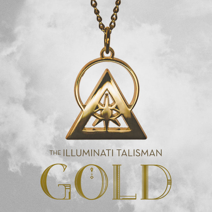 The Illuminati Talisman Gold Authentic Illuminati Pendant