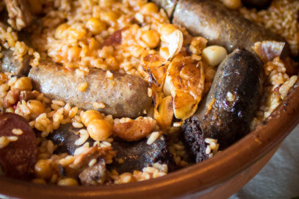 Arroz al Horno/Baked Rice with Sausages