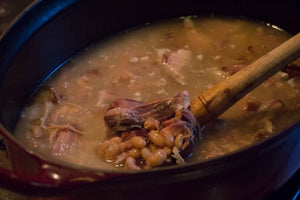 Classic Smoked Ham Hock and Beans