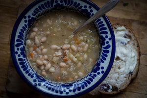 Sauerkraut and White Bean Soup