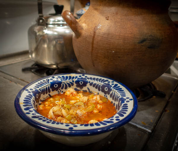 Shrimp and Hominy Stew with Smoked Pimentón Paprika