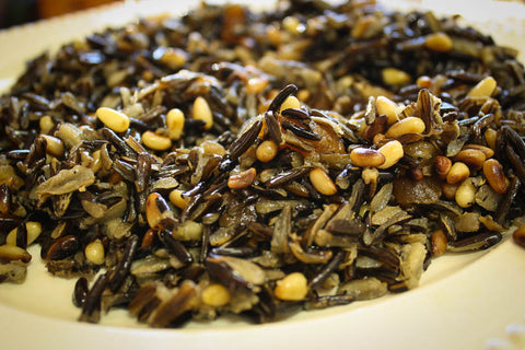 Rancho Gordo Cooking Recipe for Wild Rice and Xoconostle salad