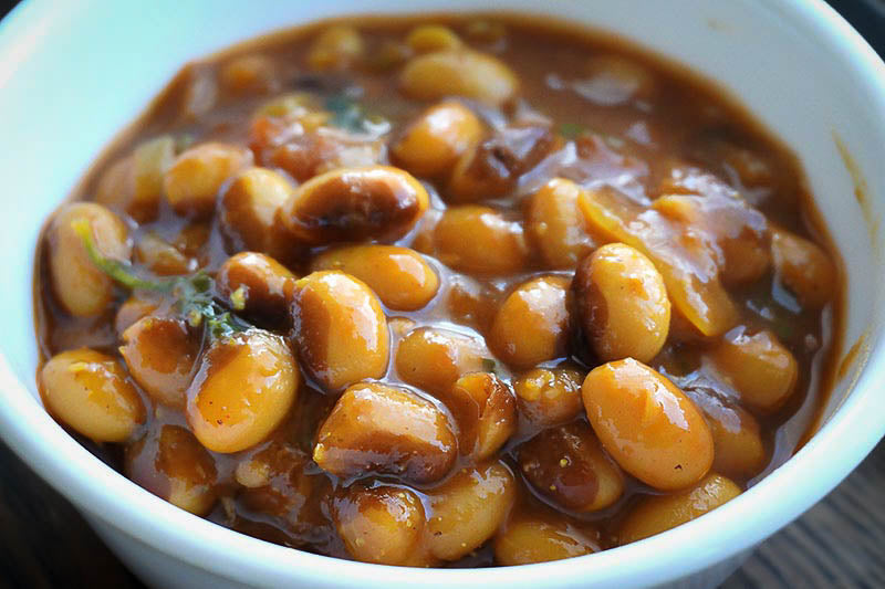 Rancho Gordo Cooking Main Dishes Recipe for Rajma: Beans in a North Indian Style made with our dried heirloom beans including Eye of the Goat Beans, Red Nightfall Beans, Sangre de Toro Beans, Moro Beans or Ayocote Morado Beans
