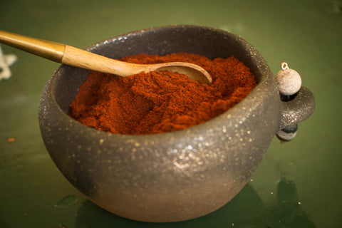 Rancho Gordo Cooking Southwestern Red Chili Powder for Southwest Red Chile Sauce Recipe