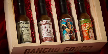 Rancho Gordo Wooden Gift Box sets