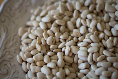 Rancho Gordo Cooking Sides Recipe for Alubia Blancas heirloom beans