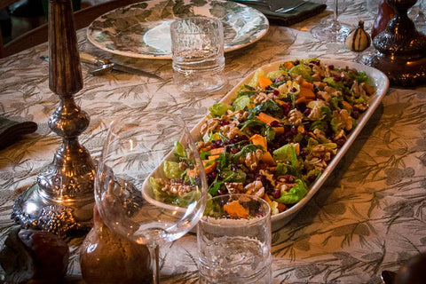 Recipe for Heirloom Bean and Wild Rice Thanksgiving Salad Salad Recipe