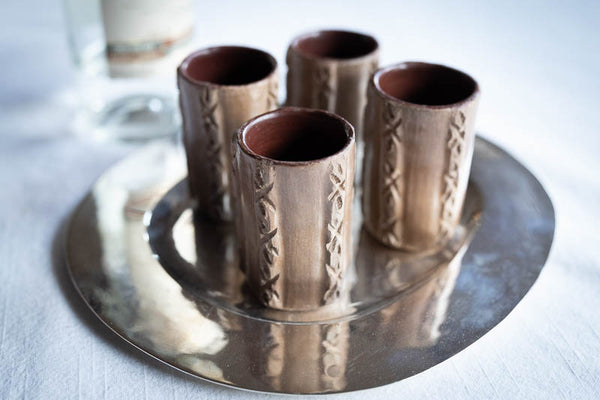 Caballito de Barro (Clay Shot Cup) Set