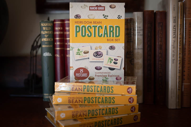 Heirloom Bean Postcard Set