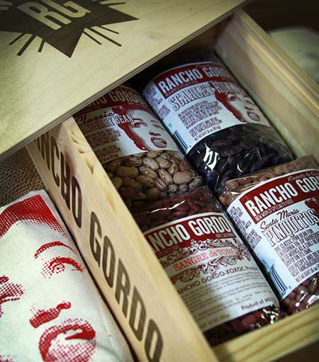 Great Beans Gift Box , Samplers, Gift Boxes and Sets - Rancho Gordo, Rancho Gordo  - 3
