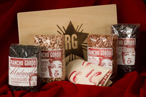 Great Beans Gift Box , Samplers, Gift Boxes and Sets - Rancho Gordo, Rancho Gordo  - 1
