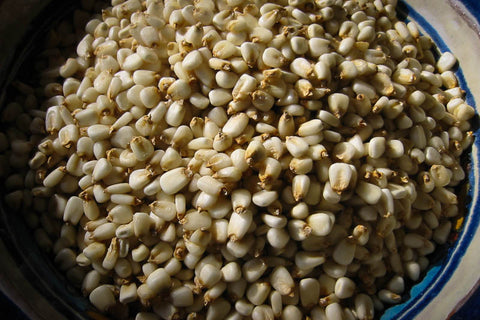 White Corn Posole/Prepared Hominy , Dried Corn - Rancho Gordo, Rancho Gordo  - 1