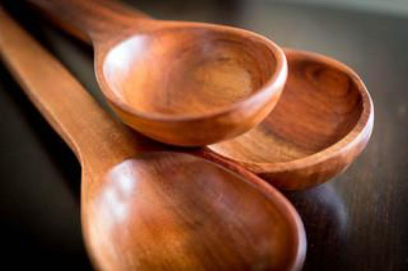 Wooden Spoons from Michoacan, Mexico