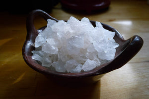 Sal de Mar, a crystallized white salt - Rancho Gordo