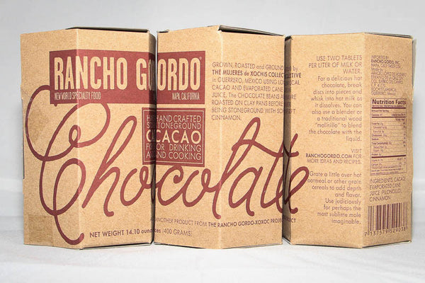 Chocolate (Stoneground Chocolate) , Other Food Products - Rancho Gordo, Rancho Gordo  - 3