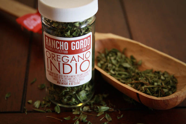 Oregano Indio , Herbs and Spices - Rancho Gordo, Rancho Gordo  - 2