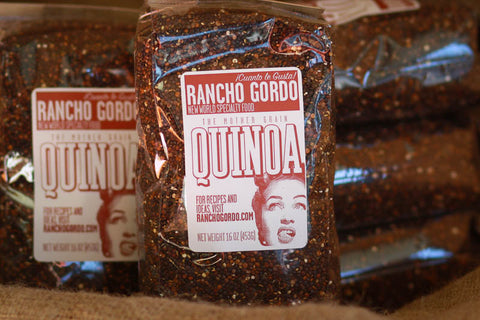 Quinoa, Red , Grains, Seeds and Wild Rice - Rancho Gordo, Rancho Gordo  - 2