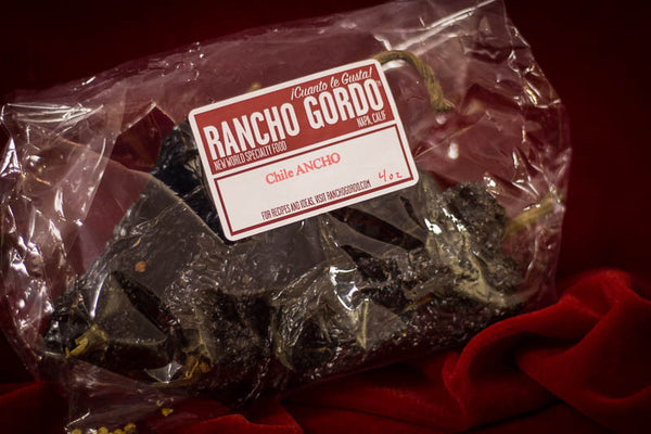 Dried Ancho Chiles, Rancho Gordo
