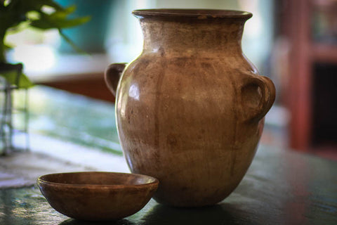 Mixteca Bean Pot made out of clay