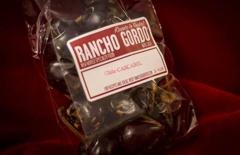 Dried Chile: Cascabel , Chiles and Chile Powder - Rancho Gordo, Rancho Gordo  - 2