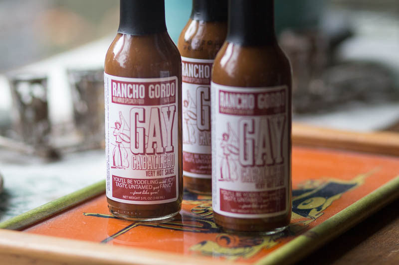 Gay Caballero Hot Sauce , Chiles and Chile Powder - Rancho Gordo, Rancho Gordo