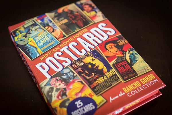 Mexican Movie Poster Postcards