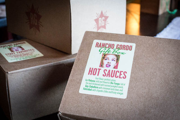 Hot Sauce Gift Box, Rancho Gordo