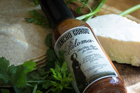 La Paloma Mild Sauce for Hot People , Chiles and Chile Powder - Rancho Gordo, Rancho Gordo