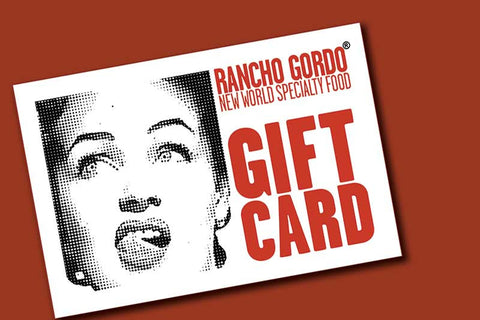 Rancho Gordo Gift Card