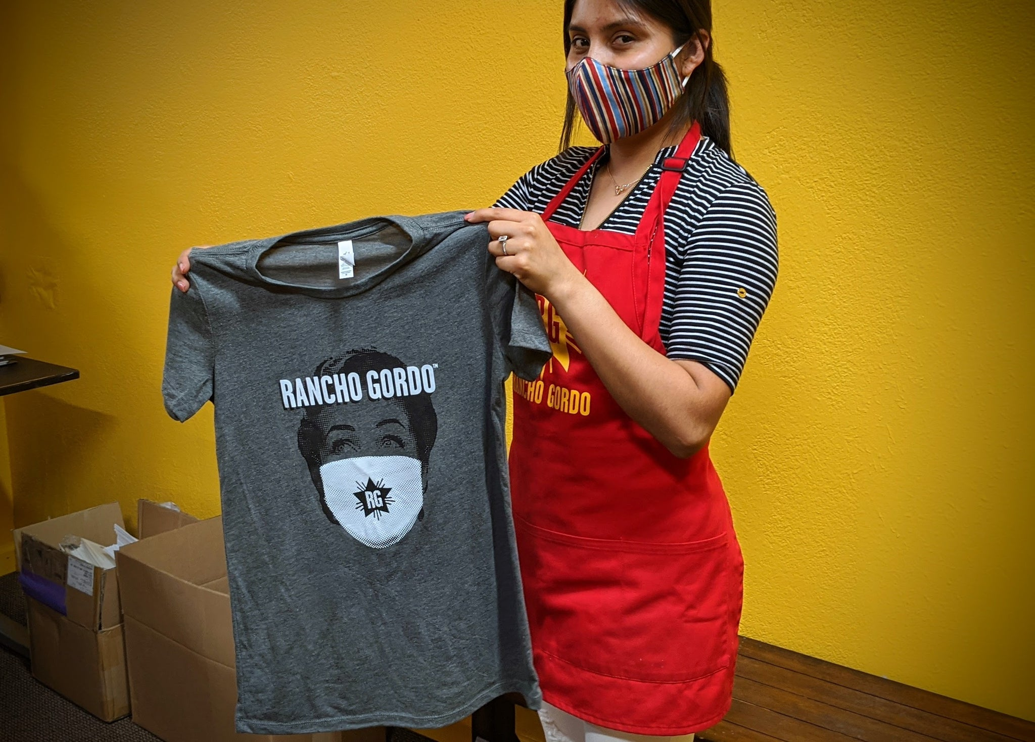 Rancho Gordo Quarantine Cooking T-Shirts