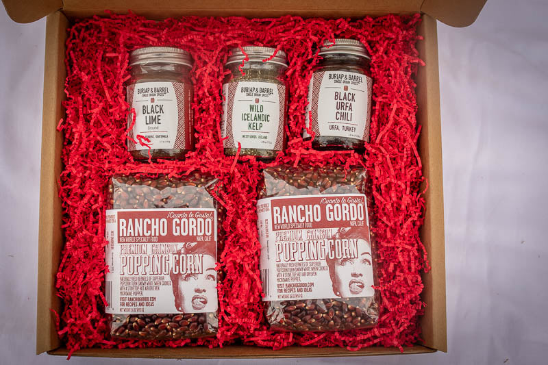 Heirloom Popping Corn Gift Box