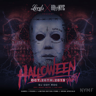 LORDS x HRNYC Halloween Jam @ NYMF Bar in Queens