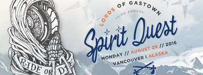 The 3rd Annual Spirit Quest to Alaska // August 29th 2016
