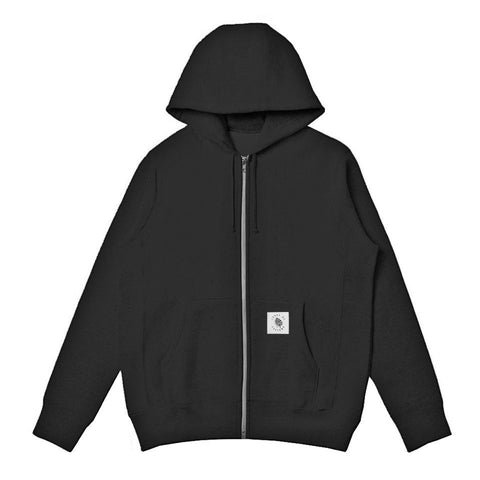 Rogue Heavyweight Zip Up Hoodie - Black