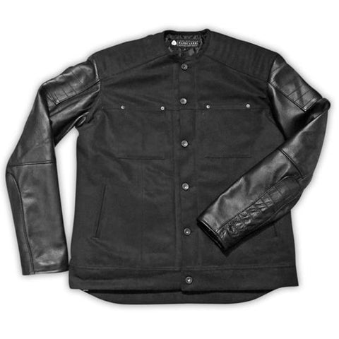 The Jitter Bug James Moto Jacket - Black