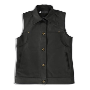 Jenny Lane Splitter Women's Vest - Black