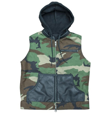The Slashtown Cut - Camo and Leather