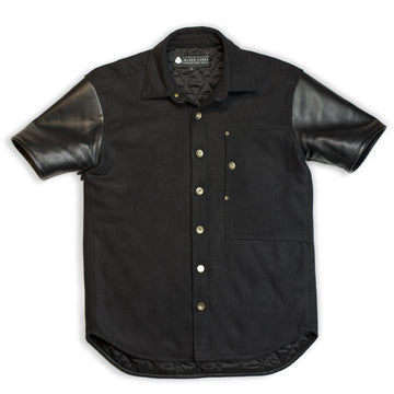 Cali Ops Leather Short Sleeve Jacket