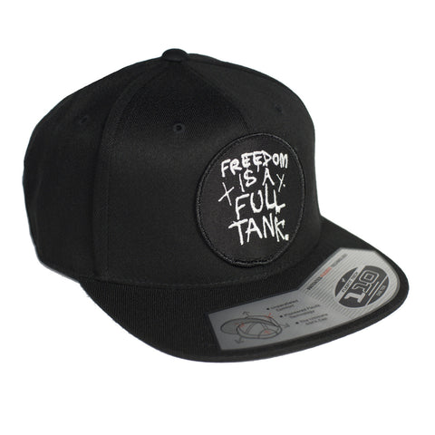 Freedom Is A Full Tank Snapback Hat