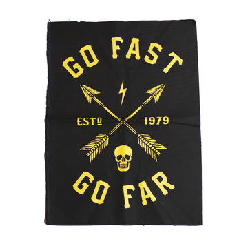 Go Fast Go Far Back Patch