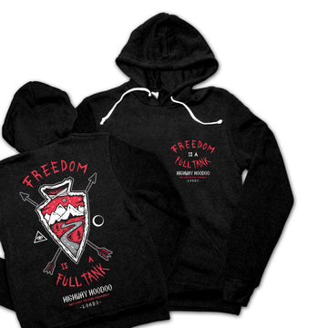Freedom Arrow Pullover Hoodie